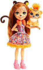 Mattel Enchantimals baba Cherish és tigris