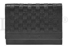 Lagen Dámská kožená peněženka SEW-068 BLK