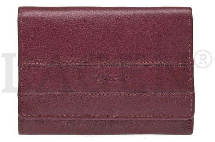 617c0bd6a8d Lagen Dámská kožená peněženka SE-068 BORDO