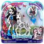 4 - Mattel Enchantimals Bábika Zelena a zebra