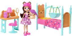 Mattel Enchantimals - Herní set ložnice