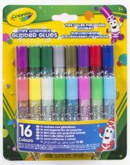 Crayola Třpytky v lepidle - vypratelné