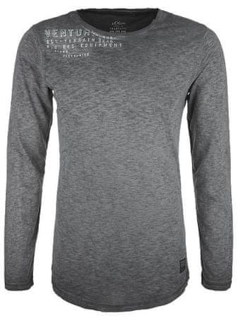 s.Oliver pánské tričko XL čierna