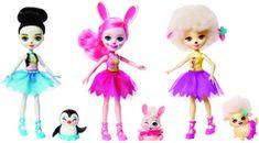 Mattel Enchantimals - 3 balett táncos kisállattal