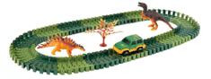 Alltoys Variabilní dráha s dinosaury 100 dílů