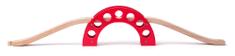 Woody most z rdečim lokom