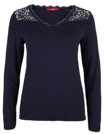 s.Oliver T-shirt damski 34 ciemnoniebieski