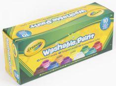 Crayola 10 ks omyvatelných temperových barev