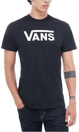 Vans Pánske tričko Vans Classic Black/White VGGGY28 (Veľkosť M)