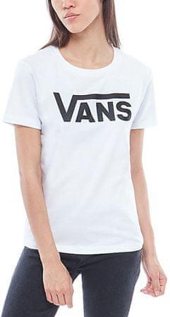 Vans Dámske tričko Flying V Crew White/Black VA34AYYB2 (Veľkosť XS)