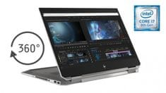 HP prenosnik ZBook x360 Studio G5 i7-8850H/32GB/SSD1TB/15,6UHD/P1000/W10 (2ZC63EA)