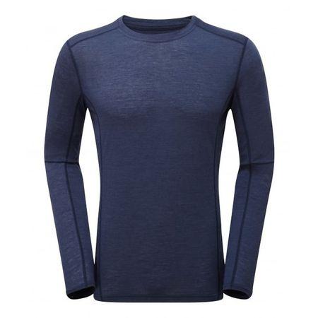 Montane Primino 140g LS T-Shirt Blue - XL