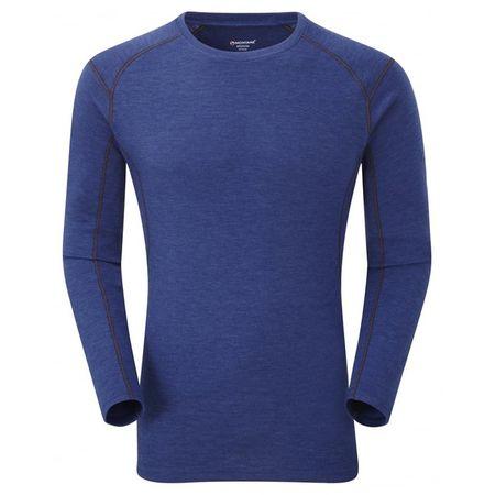 Montane Primino 220g LS T-Shirt Blue - XL