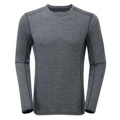 Montane Primino 140g LS T-Shirt Black