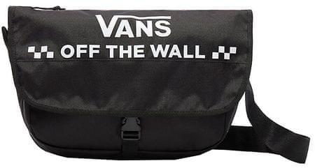 411968b61e4 Vans Taška na notebook Courier Messenger Bag Black VA3NG6BLK