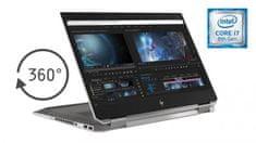 HP prenosnik ZBook x360 Studio G5 i7-8750H/16GB/SSD512GB/15,6FHD/P1000/W10P (4QH13EA)