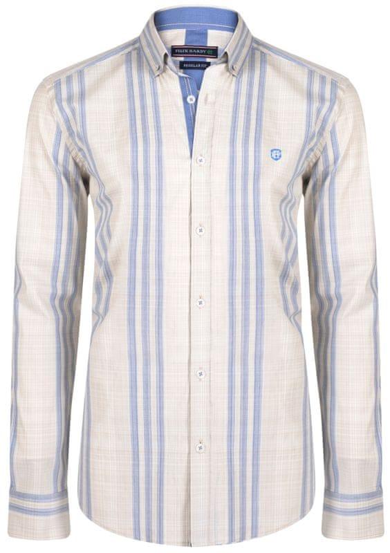 1 - FELIX HARDY pánská košile XXL béžová ... e56f7f8cbb
