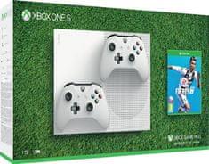 Microsoft Xbox One S 1TB + extra ovladač + FIFA 19