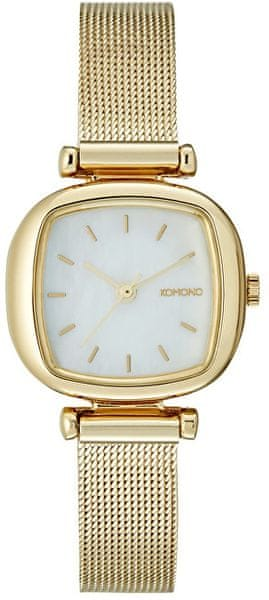 Komono Moneypenny Royale GOLD WHITE KOM-W1245