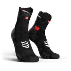 Compressport Racing Socks V3.0 Run Hi Smart Black