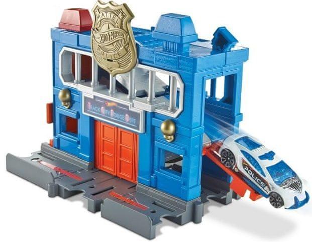 Hot Wheels City Postav město - Policejní stanice