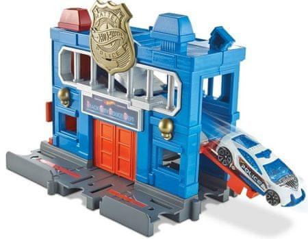 Hot Wheels City Építs várost - Rendőr állomás