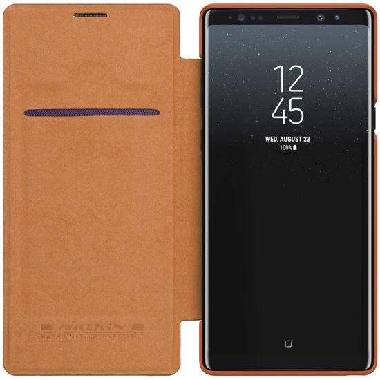 Nillkin preklopna torbica QIN za Samsung Galaxy Note 9, rjava