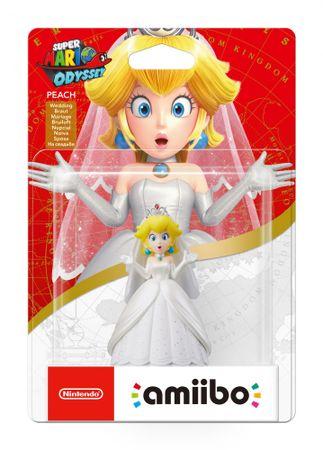Nintendo igralna figura Amiibo Princess Peach (Super Mario Odyssey)