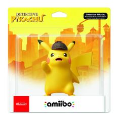 Nintendo igralna figura Amiibo Detective Pikachu