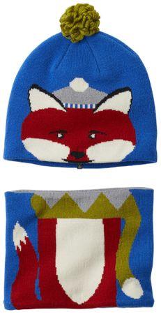 Columbia kapa in šal Snow More Beanie and Gaiter Set Super Blue Fox, modra