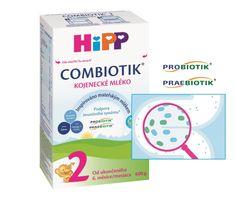 HiPP Pokračovací MKV 2 BIO Combiotik 600g