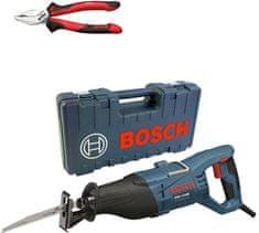 BOSCH Professional sabljasta žaga GSA 1100 E + kombinirane klešče Wiha (0615990K32)