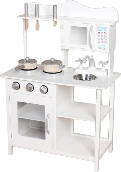 Bino Dřevěná kuchyňka Amélie s příslušenstvím