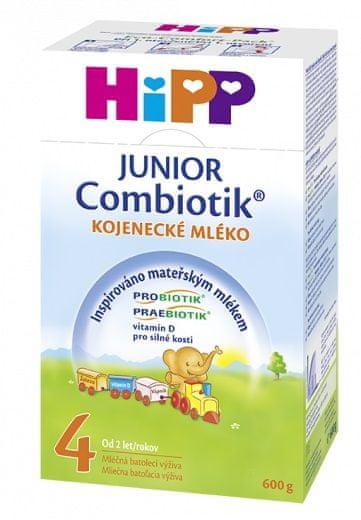 HiPP Pokračovací kojenecké mléko MKV 4 Junior Combiotik 600g