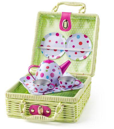 Woody piknik komplet za čajanko, 8 kosov