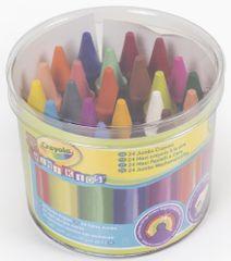 Crayola Moje první pestré voskovky 24 ks