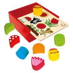 BINO Krabička s tvarmi - Krtko