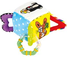 BINO Zabawkowa kostka – Krecik