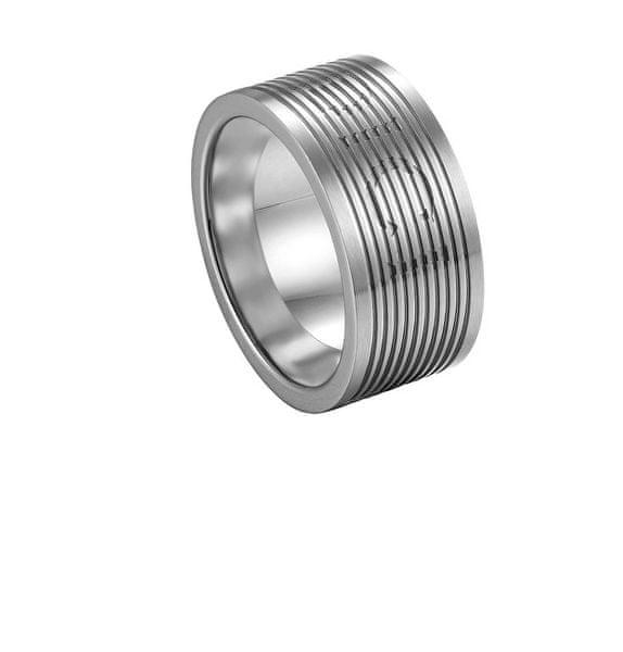Pánský prsten z oceli DCRG5006010 (Obvod 62 mm)