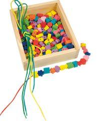 """Woody Dřevěná krabička """"Navlékací perle"""" 200"""