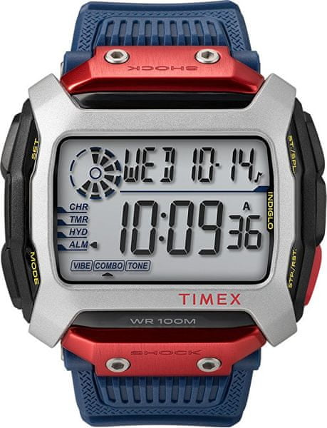 Timex Command Shock x Red Bull Cliff Diving TW5M20800