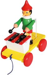 Bino Pinochio s xylofonem tahací