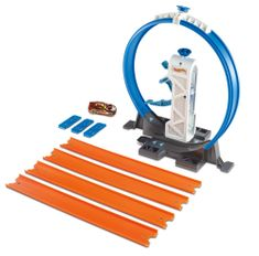 Hot Wheels zestaw Track Builder Loop Launcher