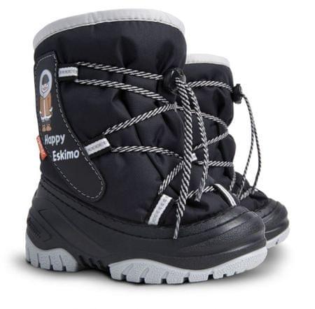 Demar Chlapčenské snehule Happy Eskimo C 22-23 čierne
