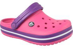 Crocs Crocband Clog K  204537-600 34/35 Różowe