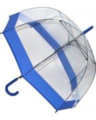 Blooming Brollies Dámský průhledný holový deštník Clear Dome EDSCDBB