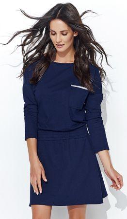 Numinou dámské šaty 40 tmavě modrá - Parametry  9eb71f9d06