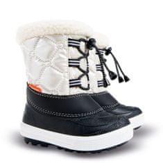 Demar Dětské sněhule Furry 2 C - bílé