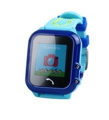 XBlitz Interaktívne detské inteligentné hodinky s GPS lokátorom, vodotesné, Find Me - modrá farba