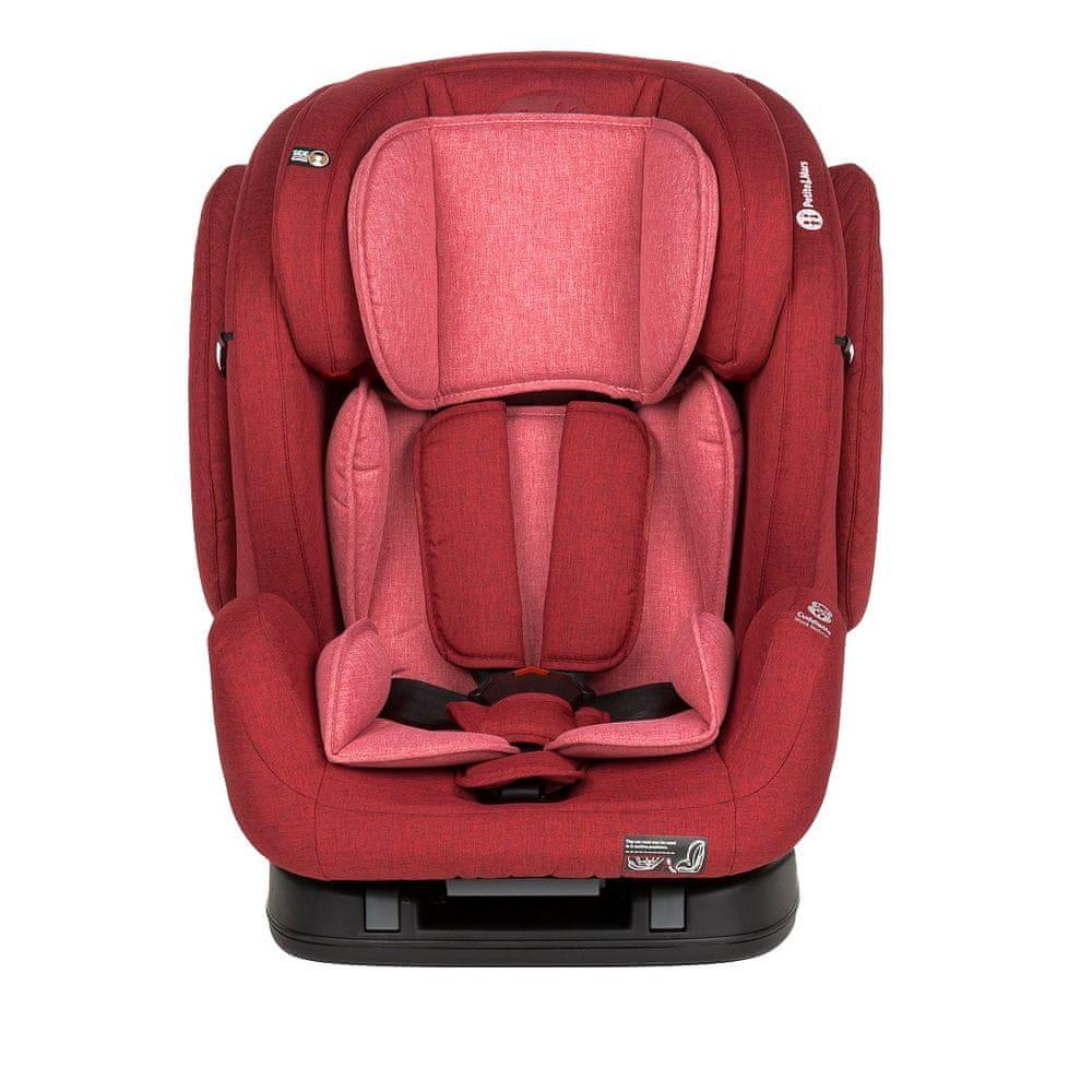 Petite&Mars Prime II Isofix 2019 Red